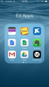 Google Classroom Icon in Top Left Corner