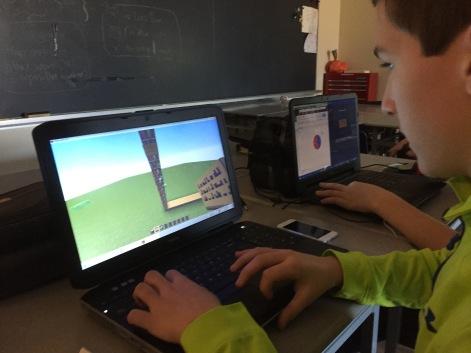 Creating Graphs in Minecraft